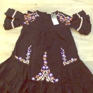 Free people dress. Never before worn.